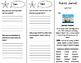 Pedro's Journal Trifold - ReadyGen 2016 5th Grade Unit 4 Module A