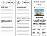 Pedro's Journal Trifold - ReadyGen 5th Grade Unit 4 Module A