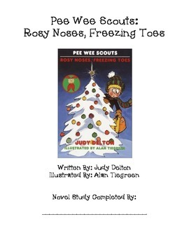 Pee Wee Scouts:  Rosy Noses, Freezing Toes Novel Study