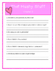 Pee Wee Scouts THAT MUSHY STUFF  -Comprehension & Text Evidence
