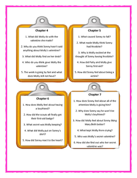 Pee Wee Scouts THAT MUSHY STUFF - Discussion Cards