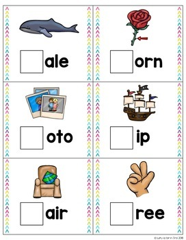 Peek-A-Boo Digraph Task Cards {Self-Checking}