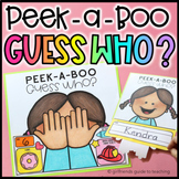 Peek-A-Boo Guess Who | All About Me Activity