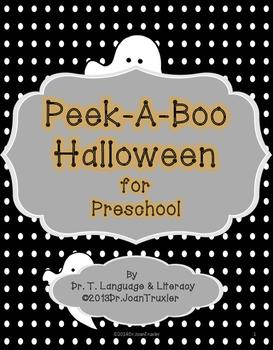 Peek A Boo Halloween for Preschool