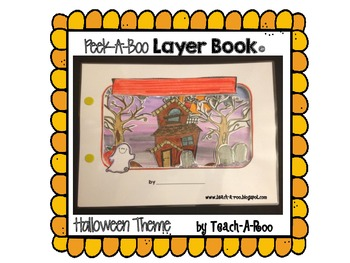 Peek-A-Boo Layer Book: Halloween Theme