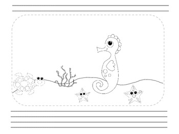 Peek-A-Boo Layer Book: Ocean Theme