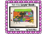 Peek-A-Boo Layer Book: Space Theme