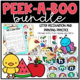 Peek-A-Boo Letter Bundle