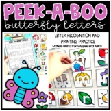 Peek-A-Boo Spring Letters