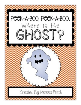 Peek-A-Boo, Where is the Ghost?-Adapted Book for Autism?