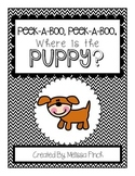 Peek-A-Boo, Where is the Puppy?-Adapted book for Autism