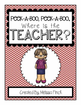 Peek-A-Boo, Where is the Teacher?-Adapted Book for Autism