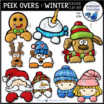 Peek Overs Winter - Whimsy Workshop Teaching