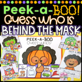 Peek-a-BOO! Guess Who is Behind the Mask | Halloween Activity
