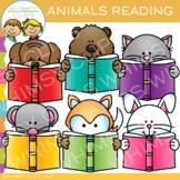 Peek-a-Boo Animals Reading Clip Art