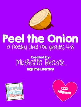 Peel the Onion: Poetry Unit