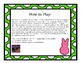 Peep Attack!  A 3rd grade Academic Vocabulary Game!