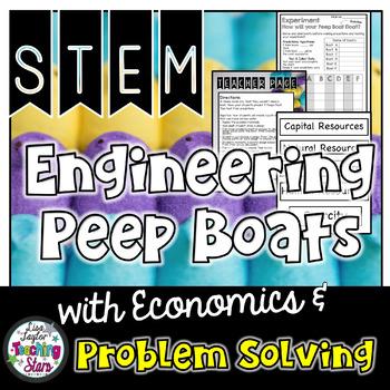 STEM Easter Peep Boat Challenges