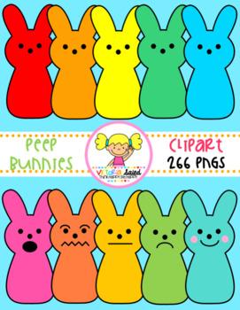 Peep Bunnies Clipart