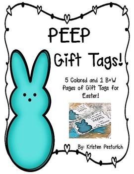 Peep Gift Tags!