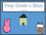 Peep Needs a Home STEM with differentiated recording forms