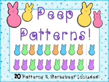 Peep Patterns Math Center
