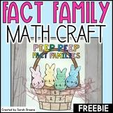 Spring Fact Family Craft Freebie