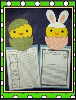 Peep, Peep, Little Chick! Craft and Writing Activities