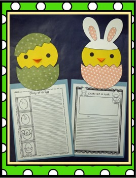 Peep, Peep, Little Chick! Craft and Writing Activities