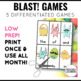 Peep! Phonics and Sight Word Blast Game Easter Spring