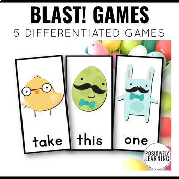 Easter Sight Word Games