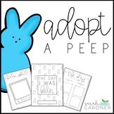 Peep Spring Writing Activity - Adopt a Peep