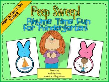 Phonemic Awareness - Rhyming Words - {Peep Sweep Rhyme Time Fun}