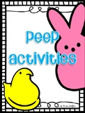 Peep Writing and Experiments