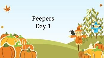 Peepers powerpoint