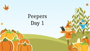 Peepers powerpoint