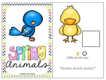 Spring Adapted Books
