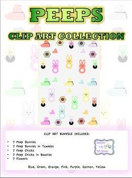 Peeps Clip Art Collection