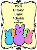 Peeps Easter Digital Literacy Activities
