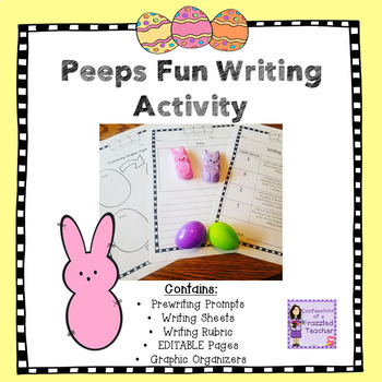 Peeps Easter Writing Activity
