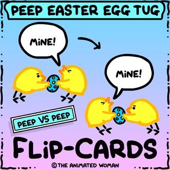 Peeps Egg Tug FLIP-CARDS - Animation basics!