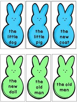 Easter Dolch Sight Word Phrases