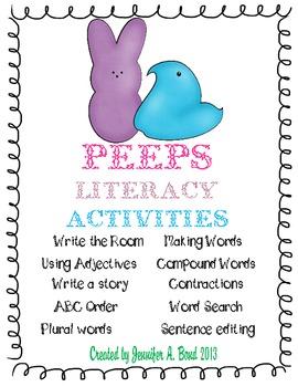Peeps Literacy Activities
