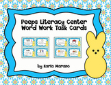 Peeps Literacy Center Word Work Task Cards