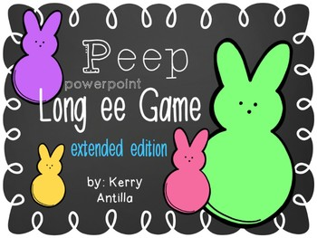 Peeps Long ee Powerpoint Game Extended Edition