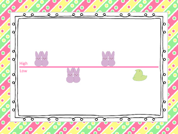 Easter Peeps Melodies--Pre-reading: Preparing for sol mi and ta titi