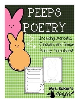 Peeps Poetry FREEBIE