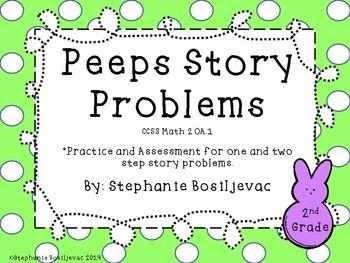 Peeps Story Problems