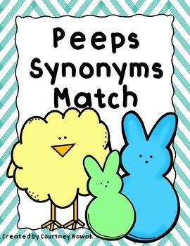 *Peeps Synonym Match*