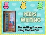 Peeps Writing Goal Board- Through the Writing Process